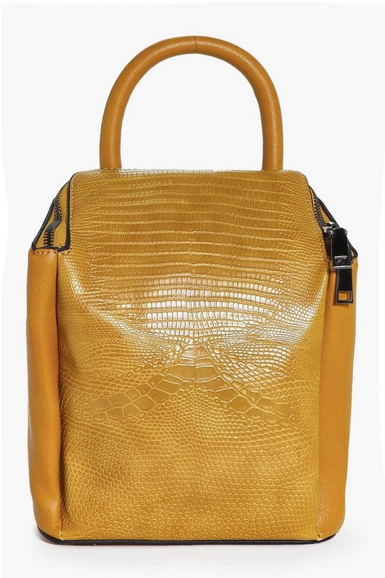 Heidi Mini Croc Backpack
