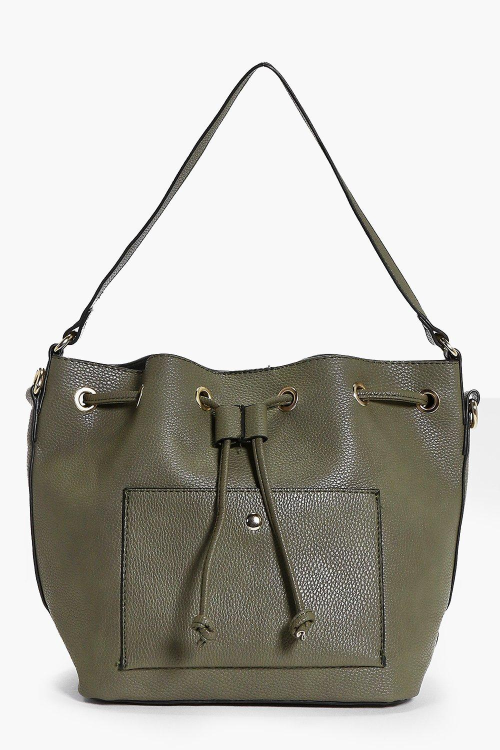 Iris Structured Front Pocket Duffle Bag