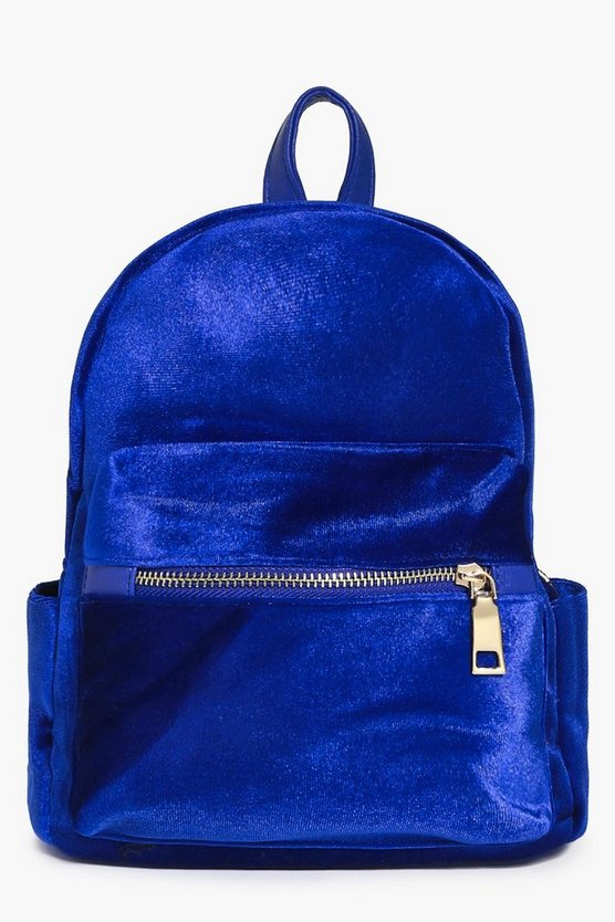 Felicity Velvet Backpack