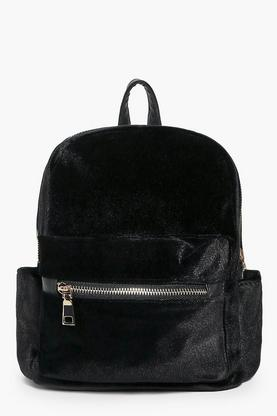Natasha Velvet Backpack