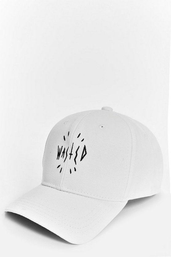 Scarlet Wasted Slogan Baseball Cap