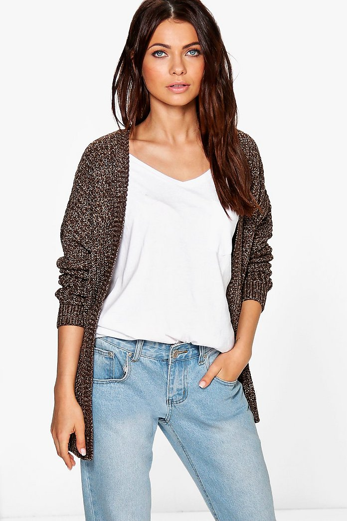 Lois Marl Cardigan With Pocket