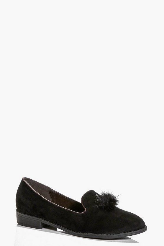 Hollie Pom Slipper Loafer