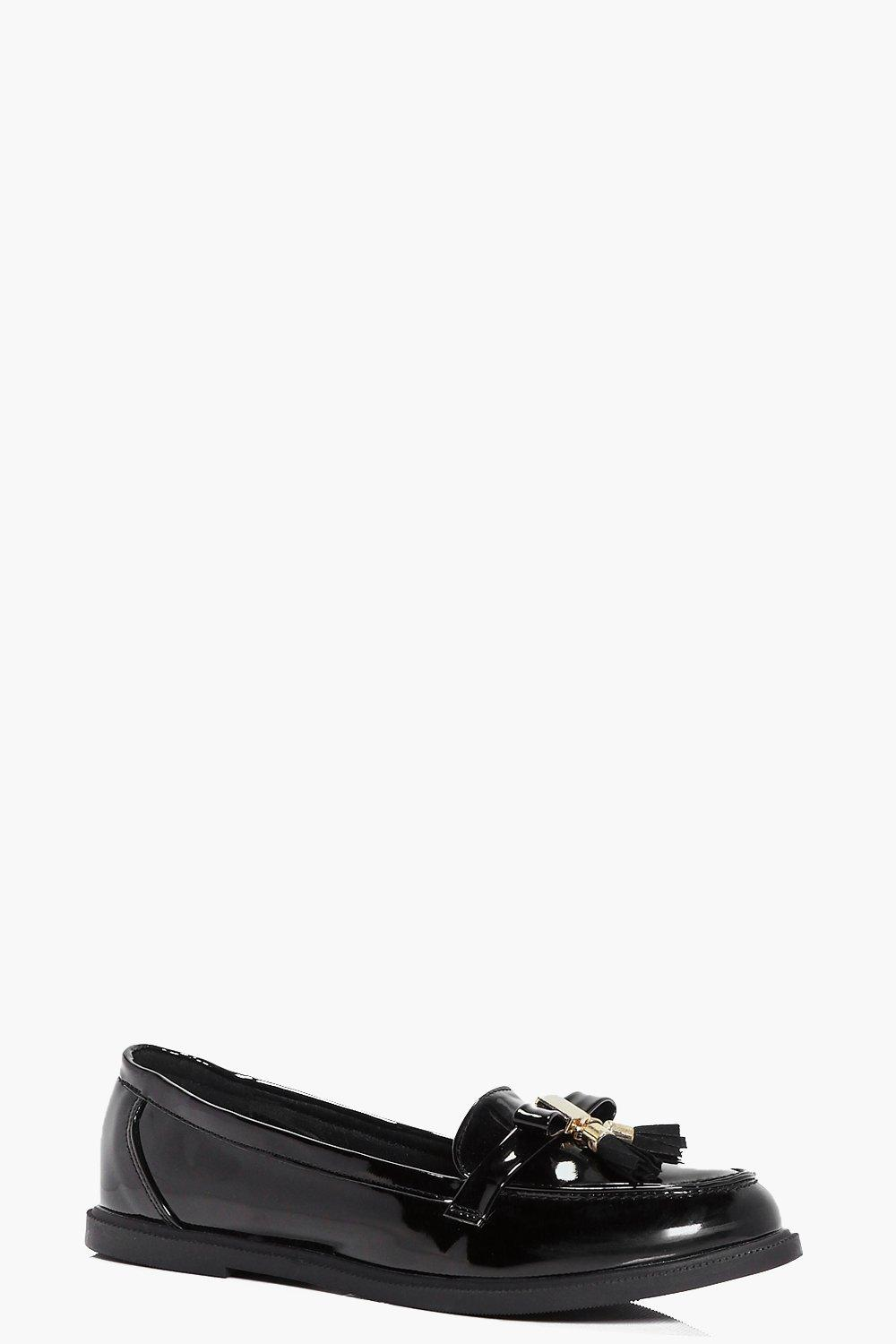 Layla Bow And Tassel Trim Loafer