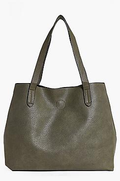 Victoria Basic Popper Shopper Bag