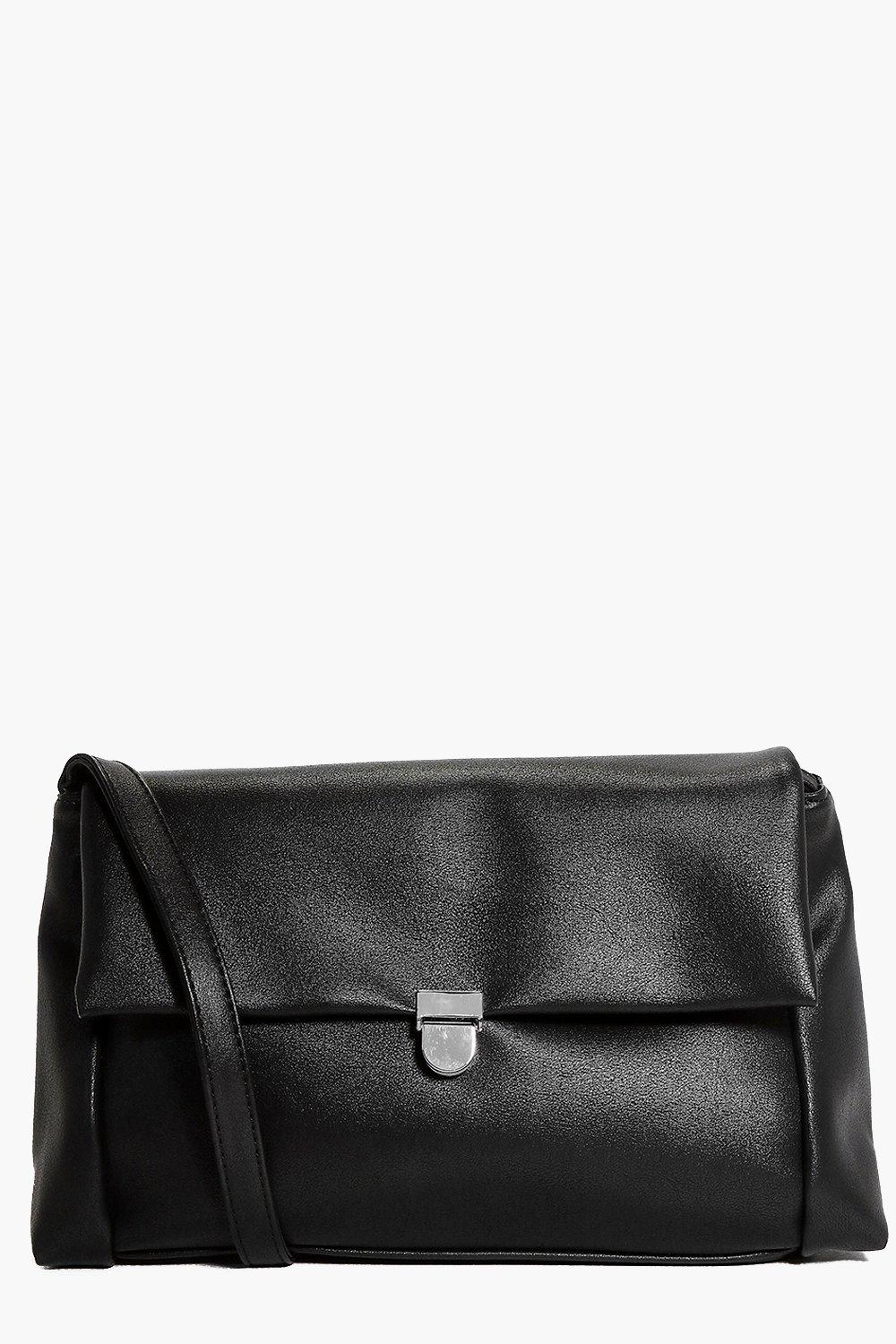 Heidi Structured Fold Over Cross Body Bag