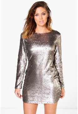Boutique Fliss Sequin Bodycon Dress