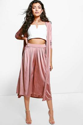Rebecca Pleat Front Crop Trouser