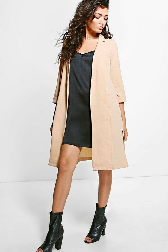 Skye Side Split Woven Duster