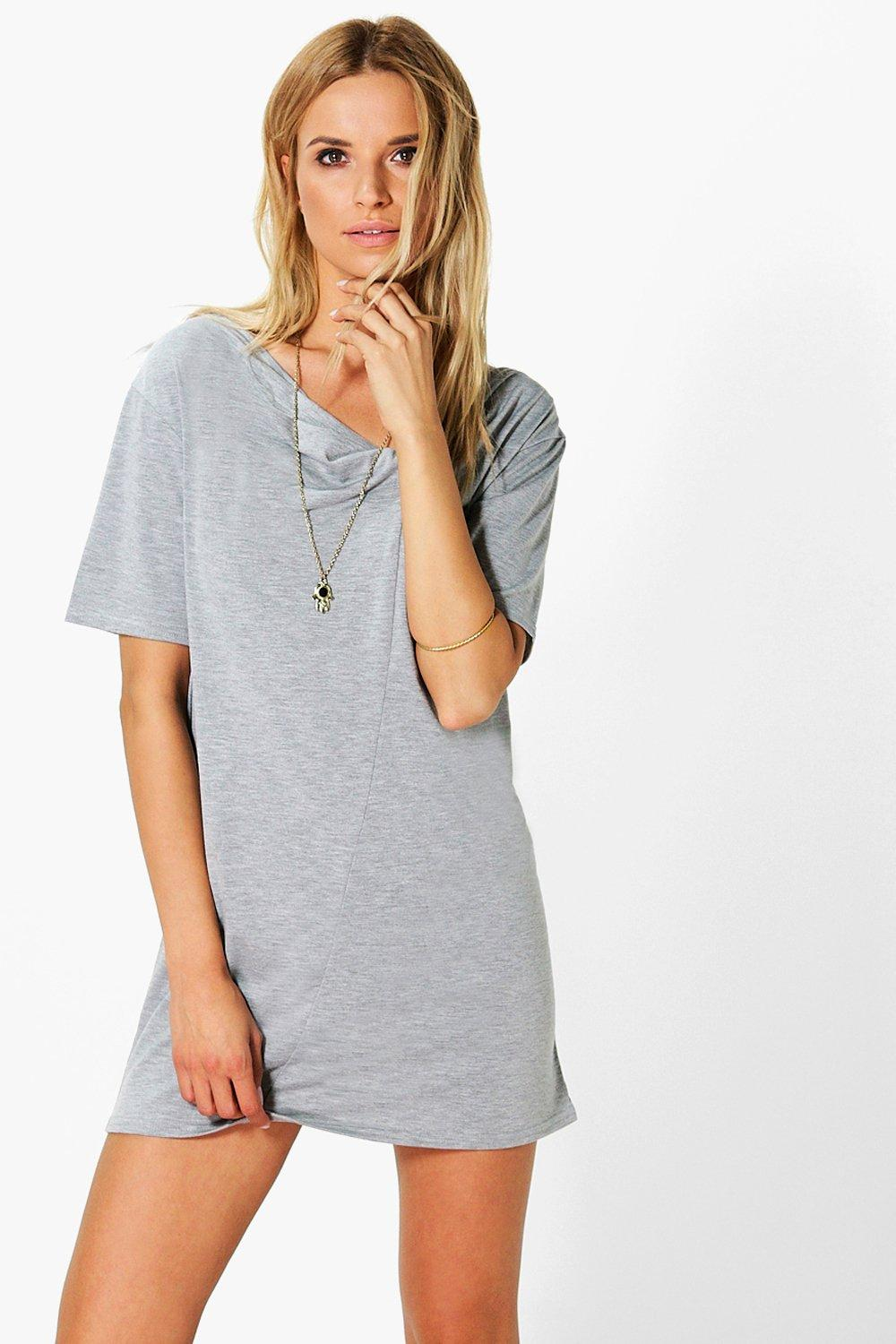 Gabby Twist Front Cut Out Detail Dress