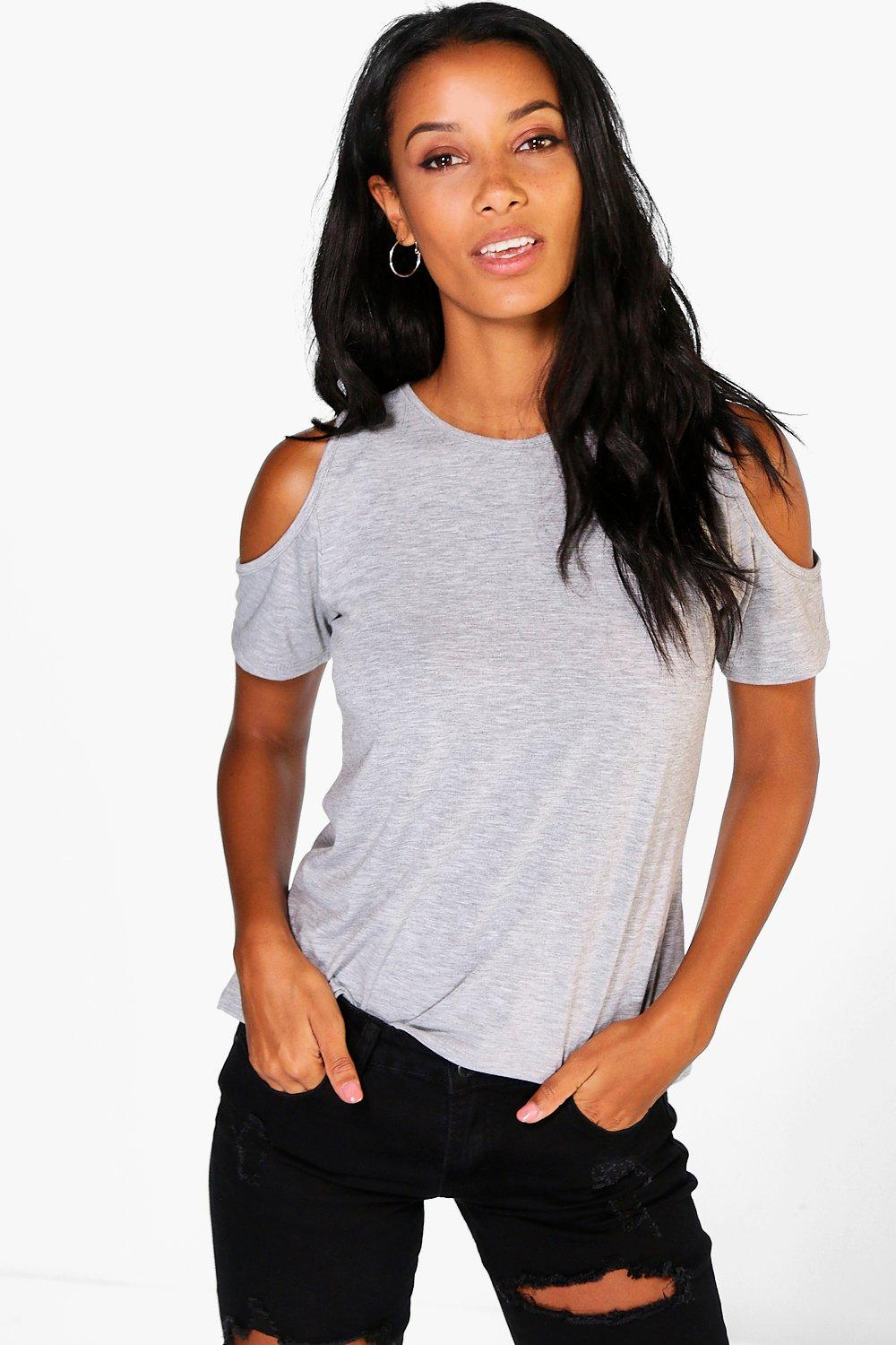 Hannah Cut Out Cold Shoulder Top