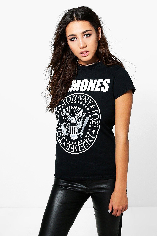 Ramones Band TShirt black