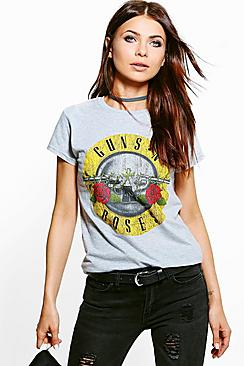 Phoebe Guns N Roses License T-shirt