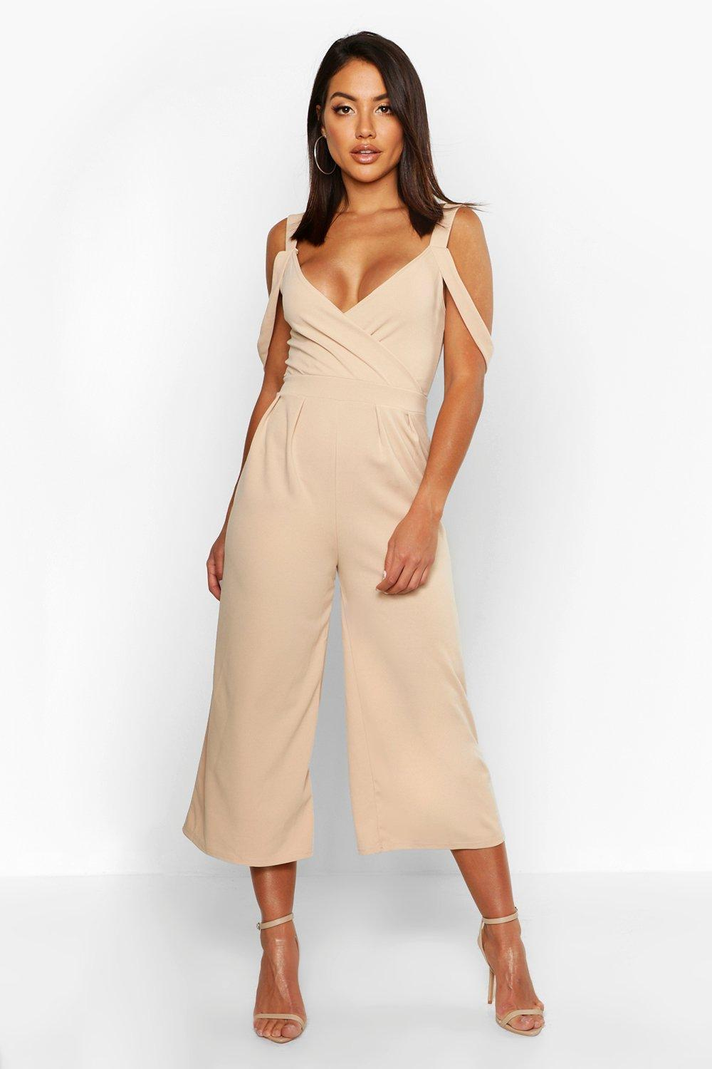 Molly Drape Shoulder Jumpsuit