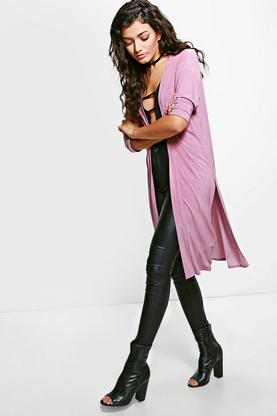 Hannah Split Side Duster Coat