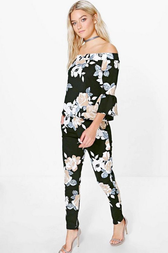 Bethany Floral Stretch Trouser