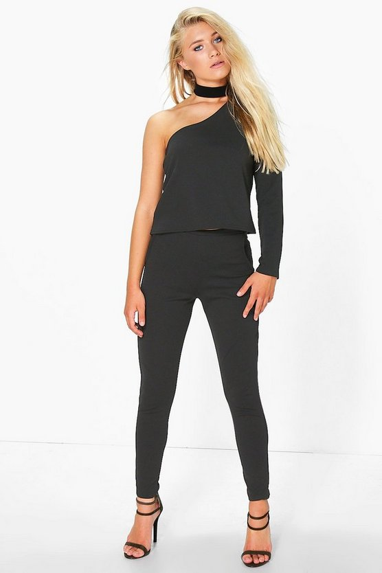 Harriet Stretch Crepe Skinny Trouser