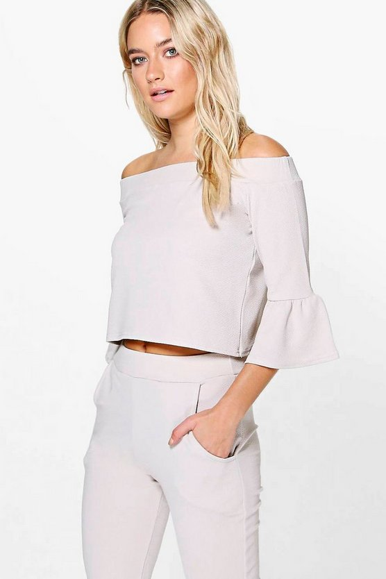 Isobel Bell Sleeve Off The Shoulder Top