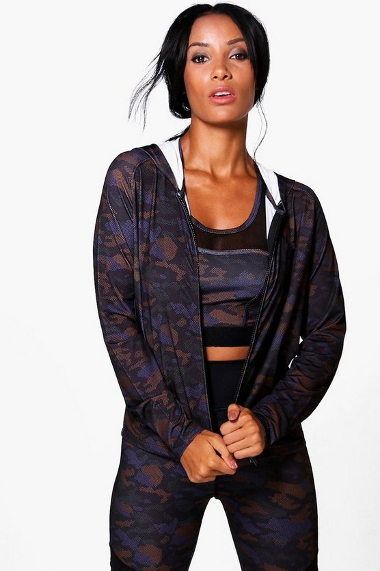 Phoebe FIT Camo Sports Jacket