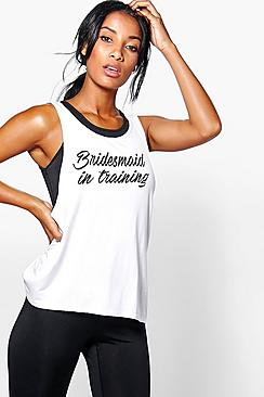 Leah FIT Bridesmaid In Training Running Vest