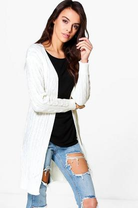 Poppy Midi Cable Cardigan