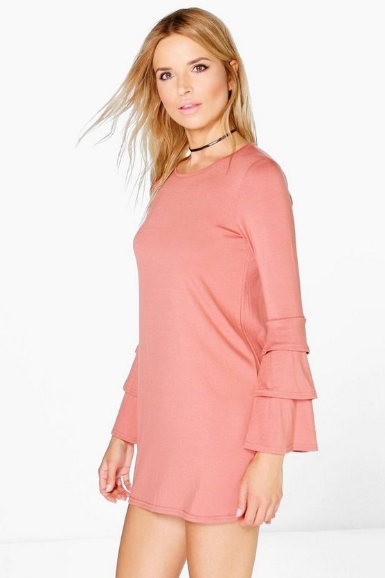 Vicky Long Sleeve Shift Dress