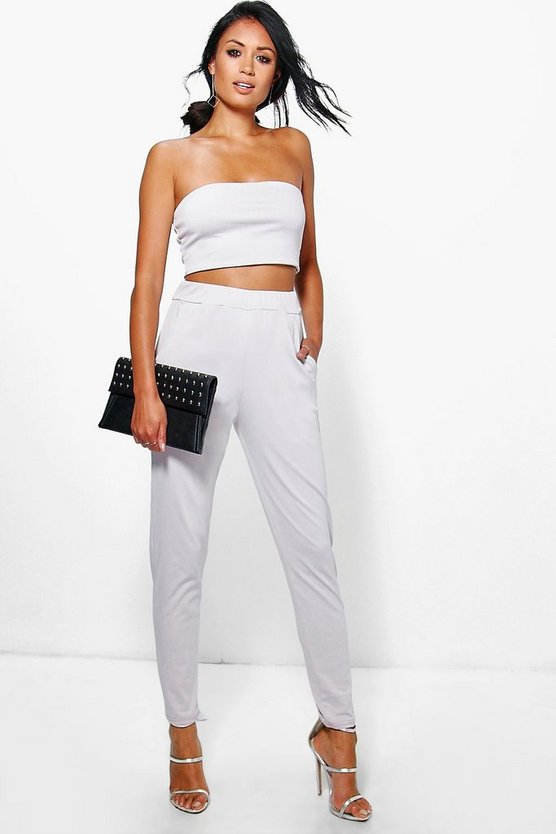 Olivia Bandeau Top And Skinny Trouser Co-Ord