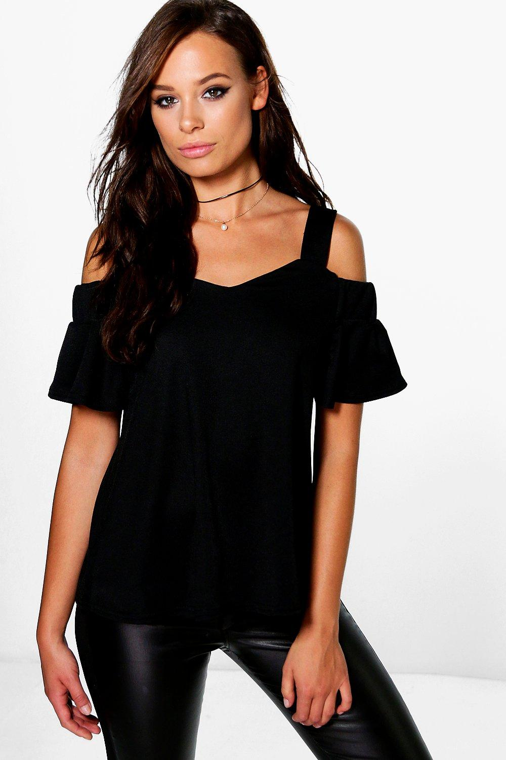 Rosie Strappy Off The Shoulder Top