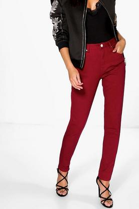 Jenni 5-Pocket High Rise Skinny Jeans