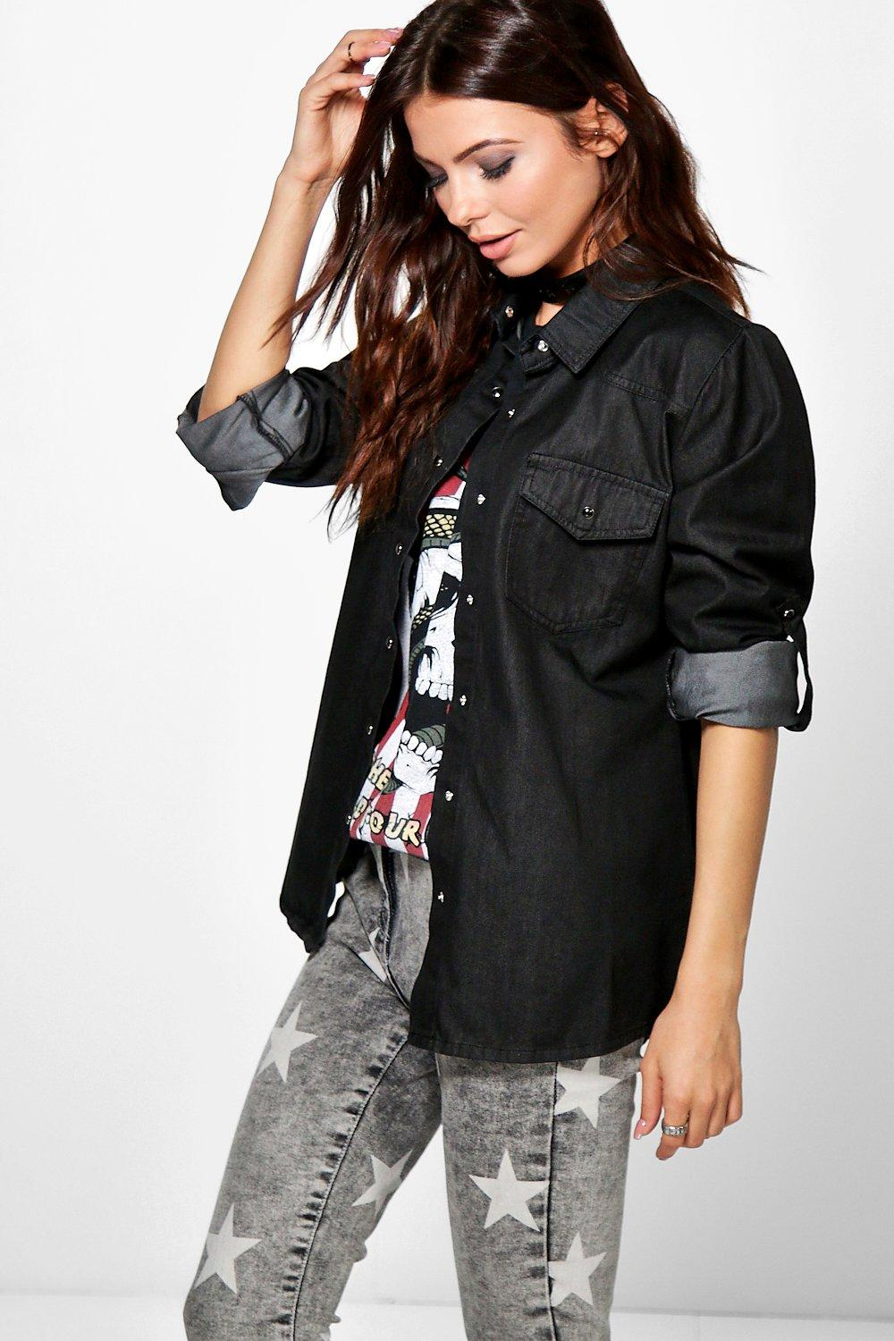 Sinead Slim Fit Denim Shirt
