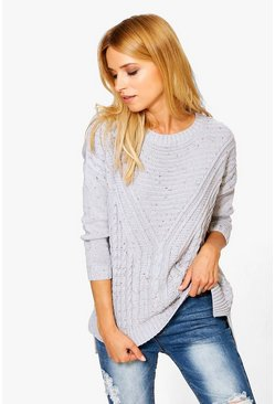 Alicia Cable Nep Jumper