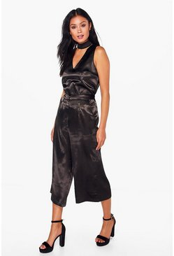 Maisie Satin Crop Trouser