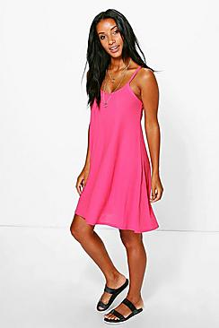 Lucy Textured Swing Dress