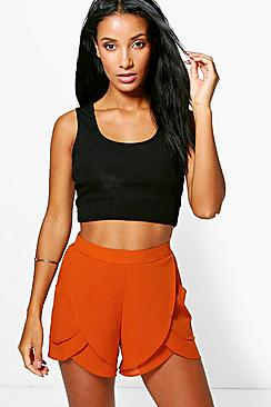 Charlotte Layered Frill Shorts