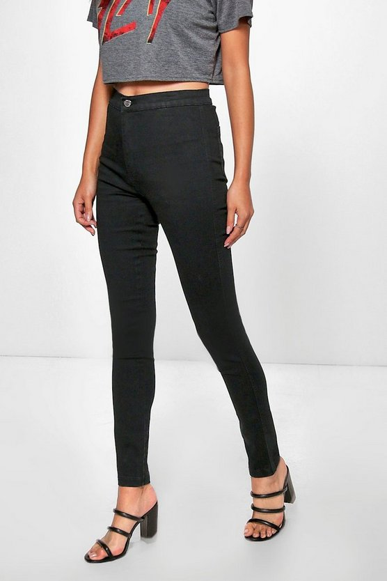 Avah High Rise Skinny Tube Jeans