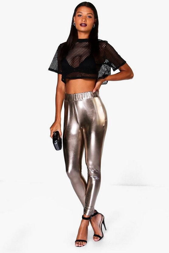 Metallic Highwaist Leggings