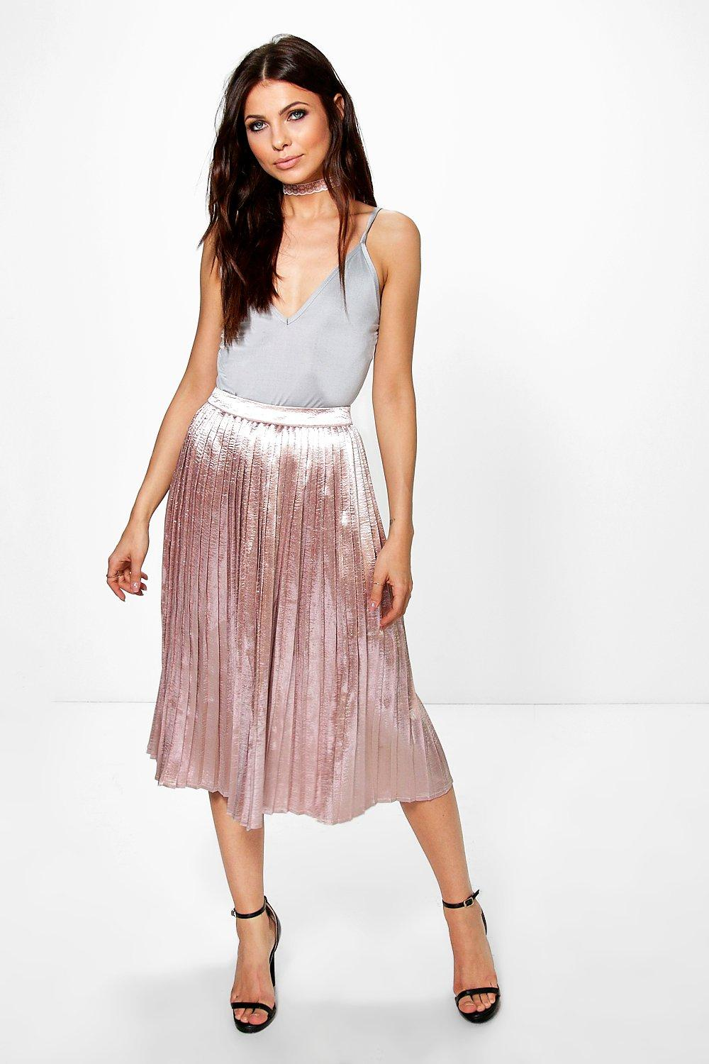 satin pleated skirt shop for cheap s dresses