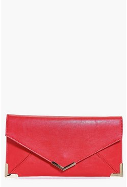 Imogen Metal Trim Envelope Clutch