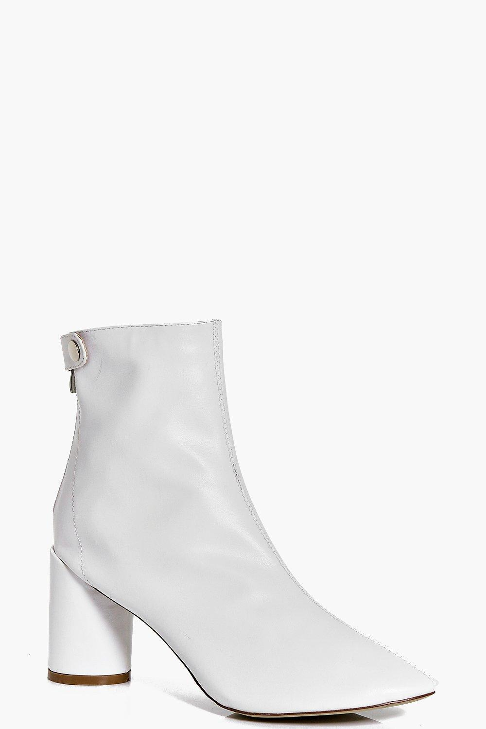 Claire Cylinder Heel Sock Boot