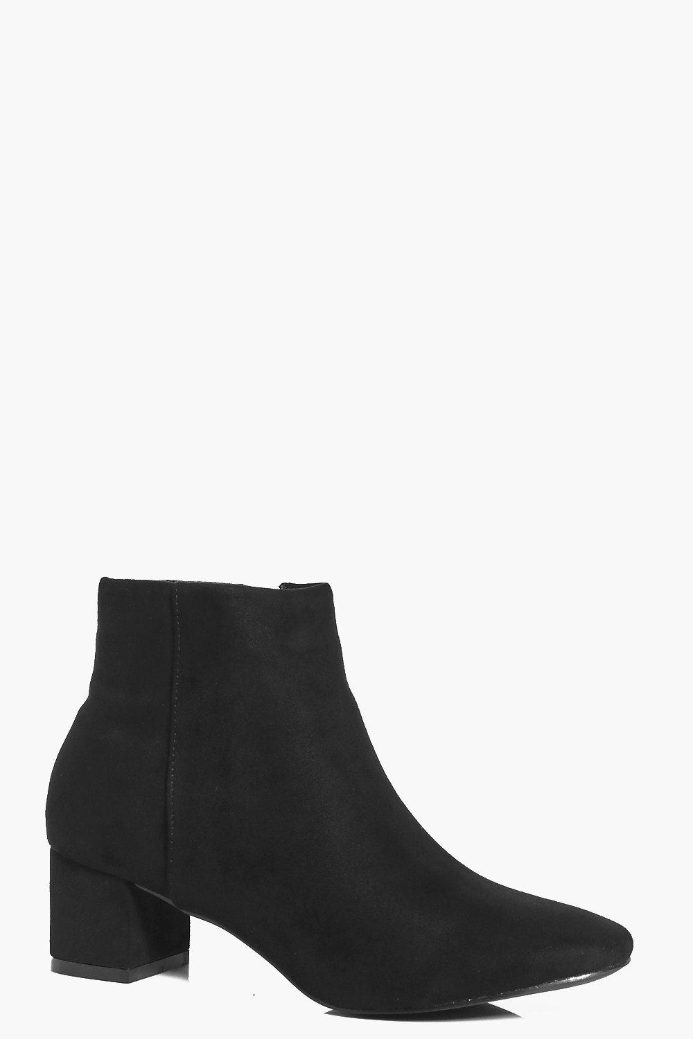 Anya Block Heel Ankle Boot
