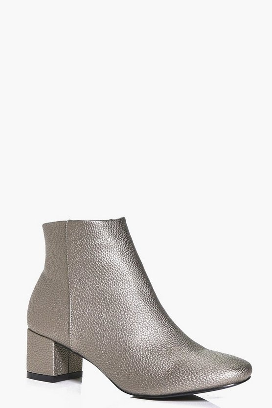Abbie Block Heel Ankle Boot