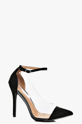 Nadia Ankle Band Clear Side Courts