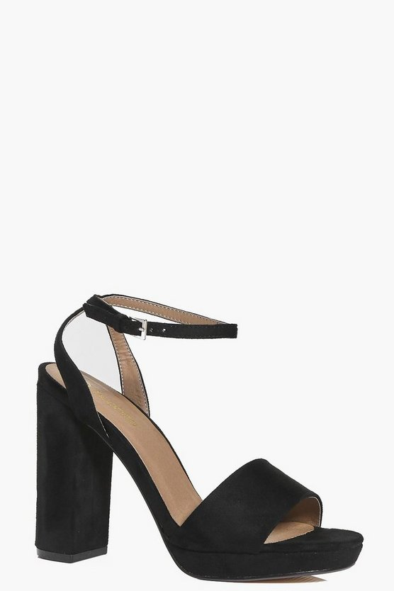 Amelie Two Part Platform Sandal