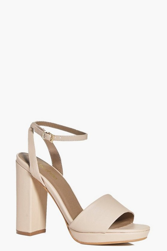 Poppy Two Part Platform Sandal