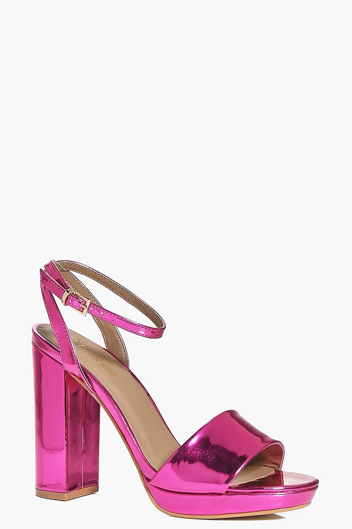 Daria Two Part Platform Sandal