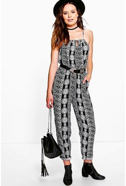 Mollie Printed Jumpsuit