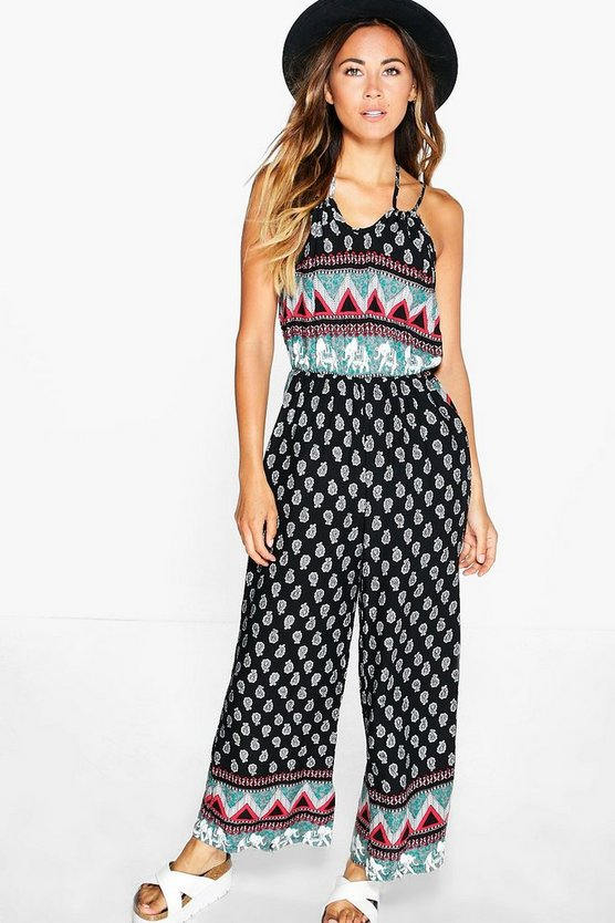 Lillie printed jumpsuit