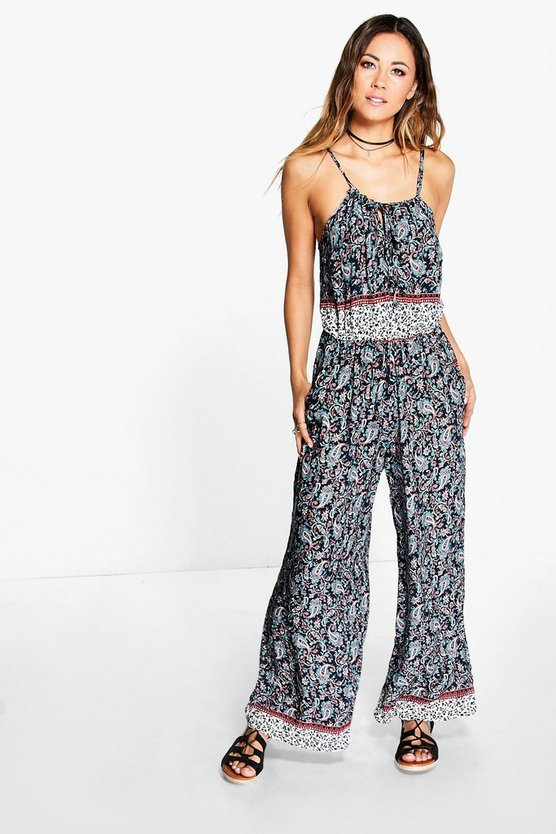 Darcy Paisley Jumpsuit