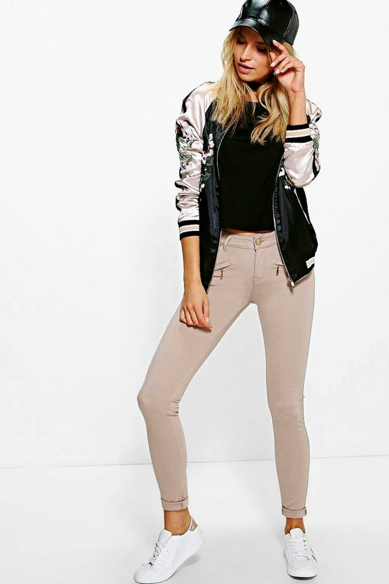 Kayla Zip Detail Jegging