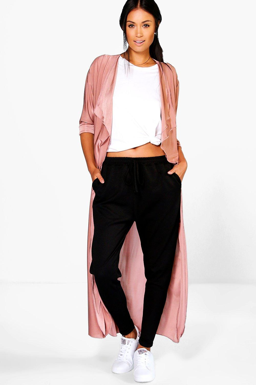 Paige Double Layer Waterfall Slinky Duster